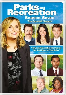 Cover image for Parks and recreation. Season seven, the farewell season.
