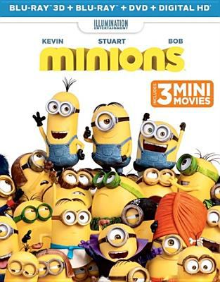 Cover image for Minions [3D]
