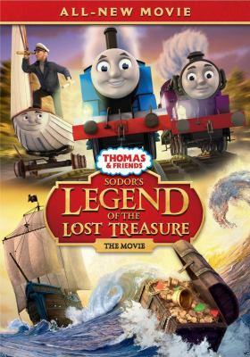 Cover image for Thomas & friends. Sodor's legend of the lost treasure, the movie.