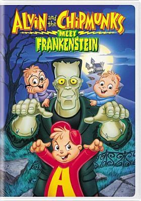 Cover image for Alvin and the Chipmunks meet Frankenstein.