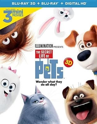 Cover image for The secret life of pets 3D