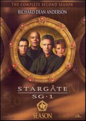 Cover image for Stargate SG-1. The complete second season