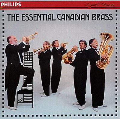 Cover image for The essential Canadian Brass
