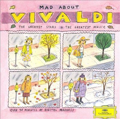 Cover image for Mad about Vivaldi the greatest stars, the greatest music.