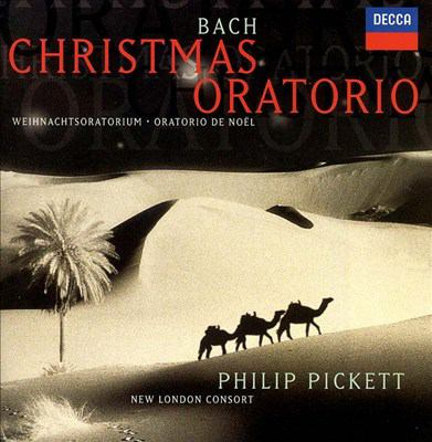 Cover image for Christmas oratorio