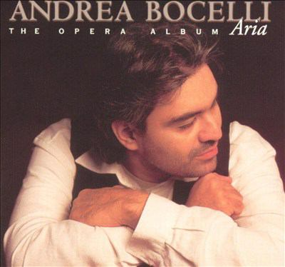 Cover image for Aria the opera album.