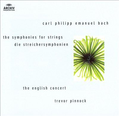 Cover image for The symphonies for strings