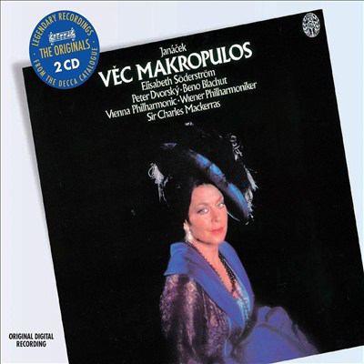 Cover image for Věc Makropulos ; Lachian dances