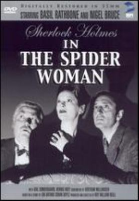 Cover image for Sherlock Holmes in The Spider Woman