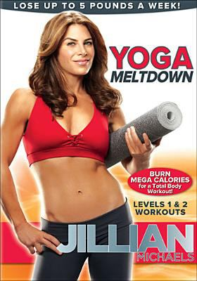 Cover image for Yoga meltdown. Levels 1 & 2 workouts