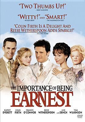 Cover image for The importance of being Earnest