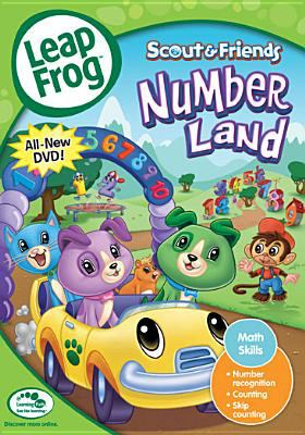 Cover image for Leapfrog. Scout & friends number land