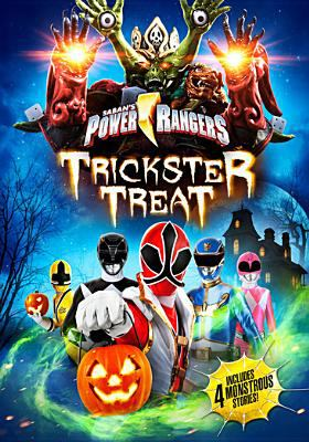 Cover image for Power rangers. Trickster treat.