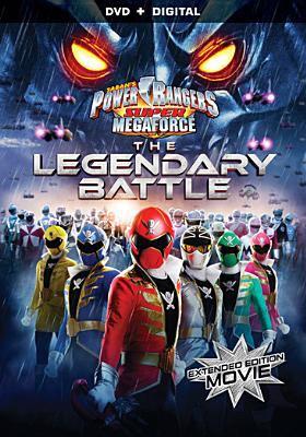 Cover image for Power Rangers super megaforce. The legendary battle