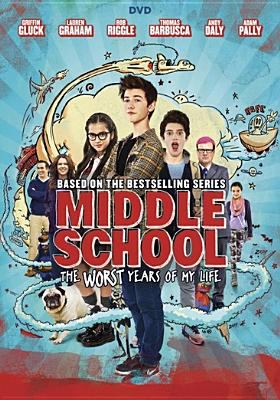 Cover image for Middle school : the worst years of my life