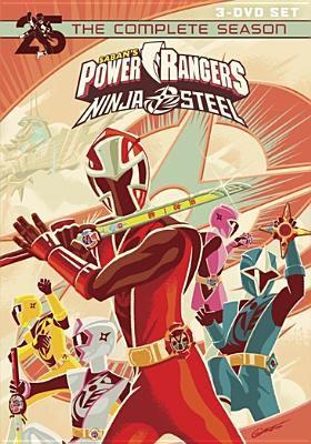 Cover image for Power Rangers ninja steel : the complete season