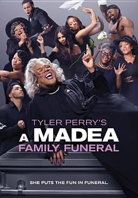 Cover image for Tyler Perry's A Madea family funeral