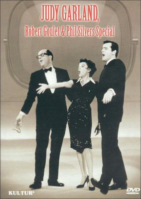 Cover image for Judy and her guests Phil Silvers and Robert Goulet