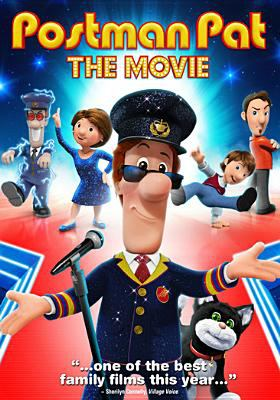 Cover image for Postman Pat : the movie