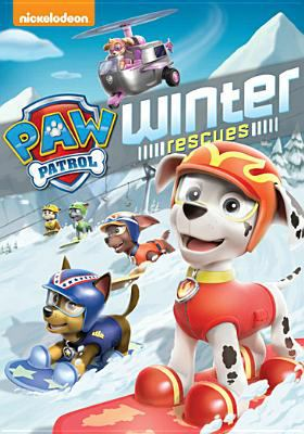 Cover image for Paw patrol : winter rescues.