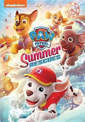 Cover image for PAW patrol. Summer rescues