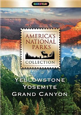 Cover image for America's national parks collection. Yellowstone, Yosemite, Grand Canyon