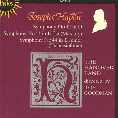Cover image for Symphonies 42, 43, 44
