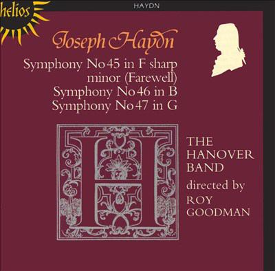 Cover image for Symphonies 45, 46, 47
