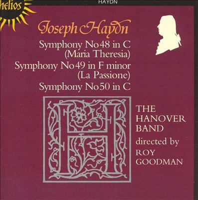 Cover image for Symphonies 48, 49, 50