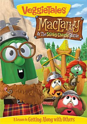 Cover image for Veggie tales. MacLarry & the stinky cheese battle