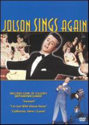 Cover image for Jolson sings again