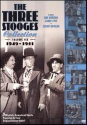 Cover image for The Three Stooges collection. Volume six, 1949-1951