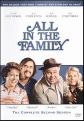 Cover image for All in the family. The complete second season