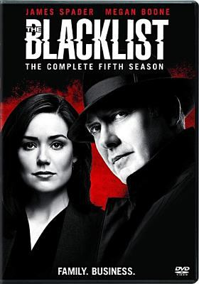 Cover image for The blacklist. The complete fifth season.