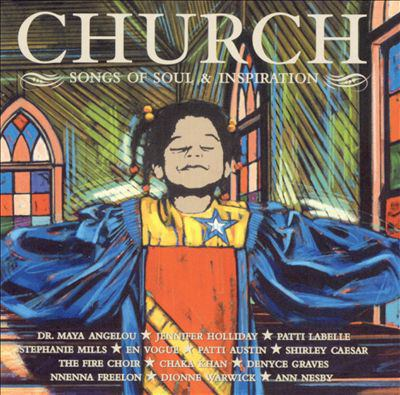Cover image for Church songs of soul & inspiration.