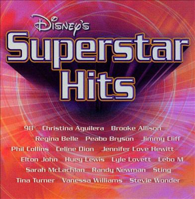 Cover image for Disney's Superstar hits