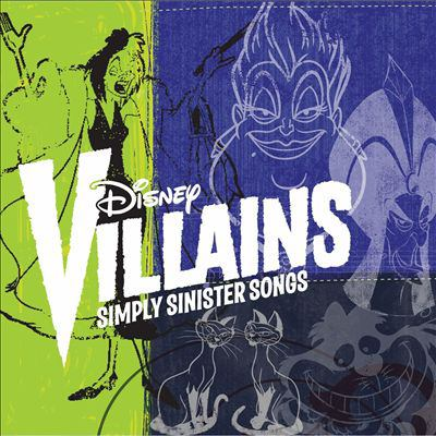 Cover image for Disney villains simply sinister songs.