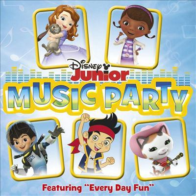 Cover image for Disney Junior music party.