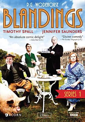 Cover image for Blandings. Series 1
