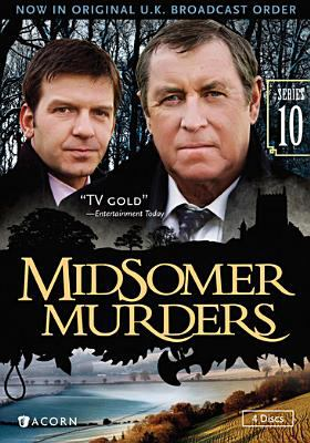Cover image for Midsomer murders. Series 10