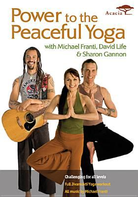 Cover image for Power to the peaceful yoga
