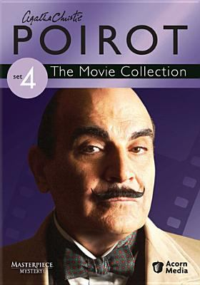 Cover image for Agatha Christie's Poirot set 4 the movie collection