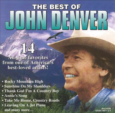 Cover image for The best of John Denver