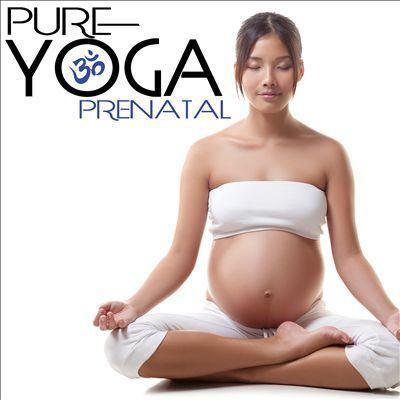 Cover image for Pure Yoga Prenatal