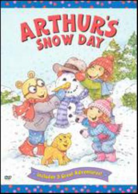 Cover image for Arthur's snow day