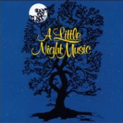 Cover image for A little night music original Broadway cast recording