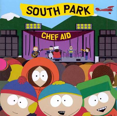 Cover image for Chef aid the South Park album.