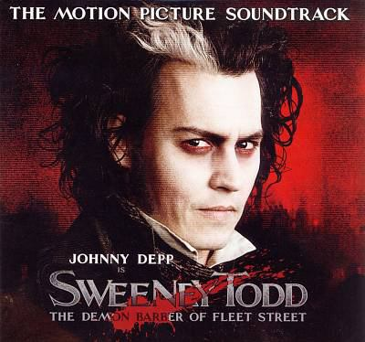 Cover image for Sweeney Todd the demon barber of Fleet Street : highlights from the motion picture soundtrack