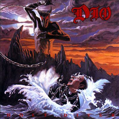 Cover image for Holy diver