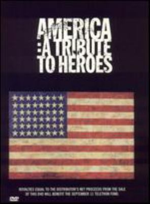 Cover image for America a tribute to heroes.